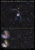 Large Format Poster: The Antennae Galaxies - Extreme Deep Field - 75 Hours
