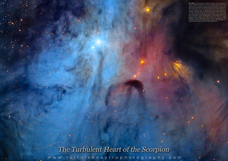 Large Format Poster: The Turbulent Heart of the Scorpion