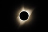 Corona at full totality