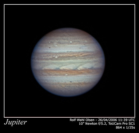 Jupiter in Very Good Seeing
