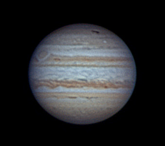 Jupiter with Anthony Wesley's Comet Impact spot