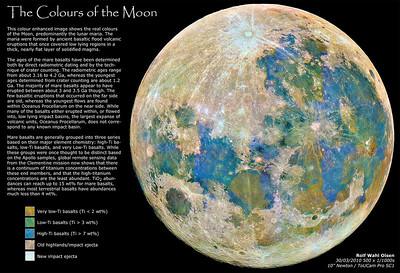 A Lunar Mineral Map - Titanium Distribution on the Lunar Surface