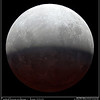Partial lunar eclipse June 2010