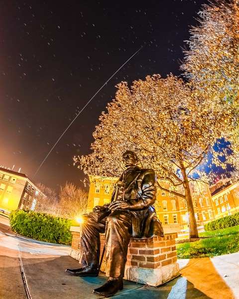 ISS flying over John Purdue - December 5th, 2015