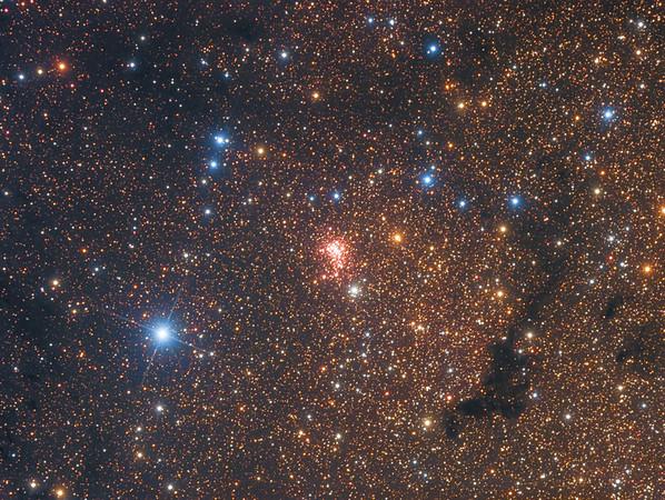 Super Star Cluster Westerlund 1 in Near Infrared