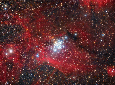 The Gem Cluster - NGC 3293