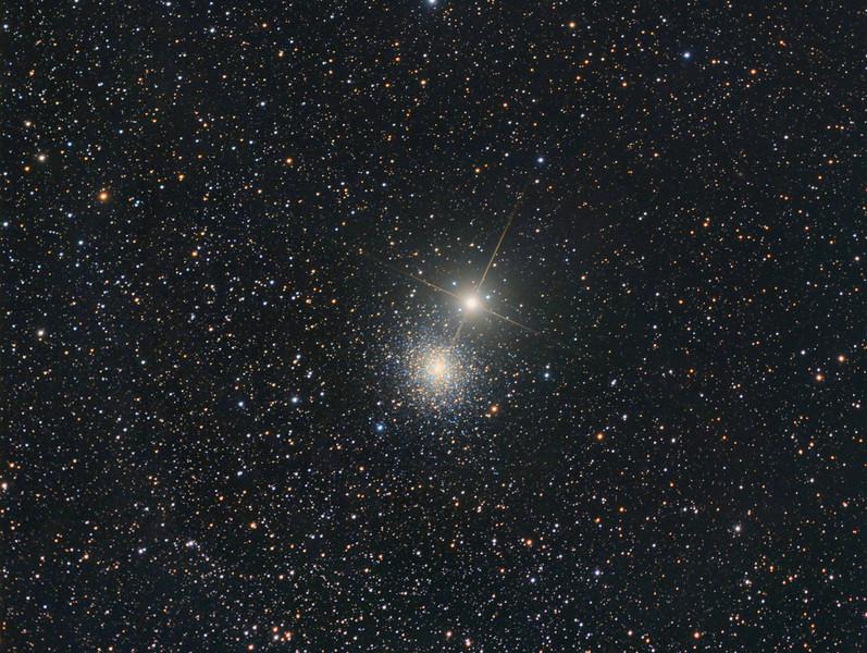 NGC 5286 and M Centauri