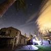 60 Starlink Satellites pass over Santa Clarita, CA. 02-14-2021