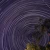 Star trails 425 images 04-24-2020, Santa Clarita, CA.