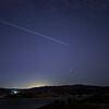Starlink v1.0 Flight 15 pass over Lake Castaic, CA. 12-03-2020
