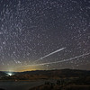 Starlink 25L pass over Castaic Lake, CA. 60 Stacked Images. 05-06-2021
