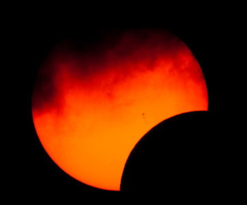 Solar eclipse, May 20, 2012, Odessa, TX.