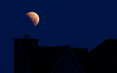 Lunar eclipse, June 4, 2012, Dallas, TX.