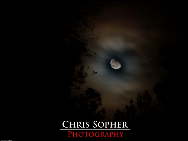 The Moon - Chris Sopher Photography Peoria, IL