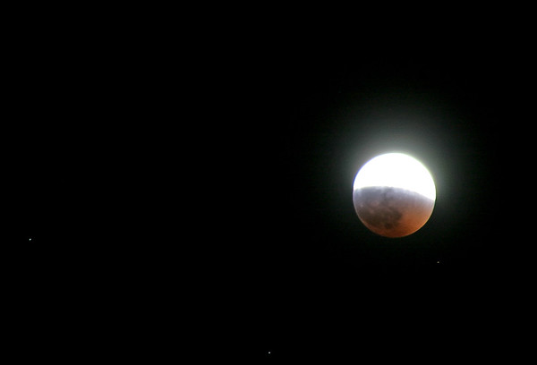 Moon eclipse, Villasanta, Italy, 2007, March 3