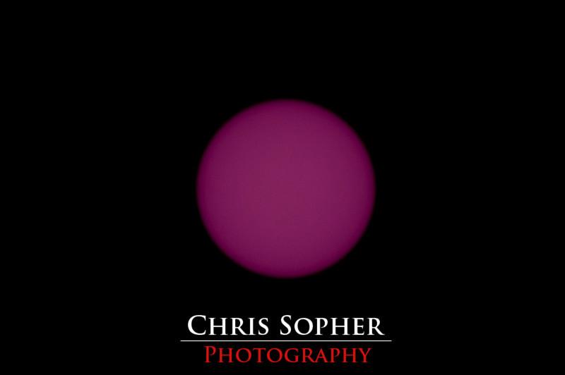 The Sun - using IR 950 Filter
