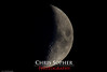 Tonight's Moon - August 4, 2011 by Chris Sopher