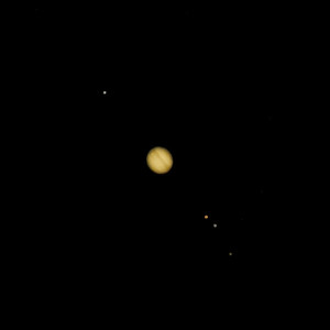 Jupiter and the Galilean moons
