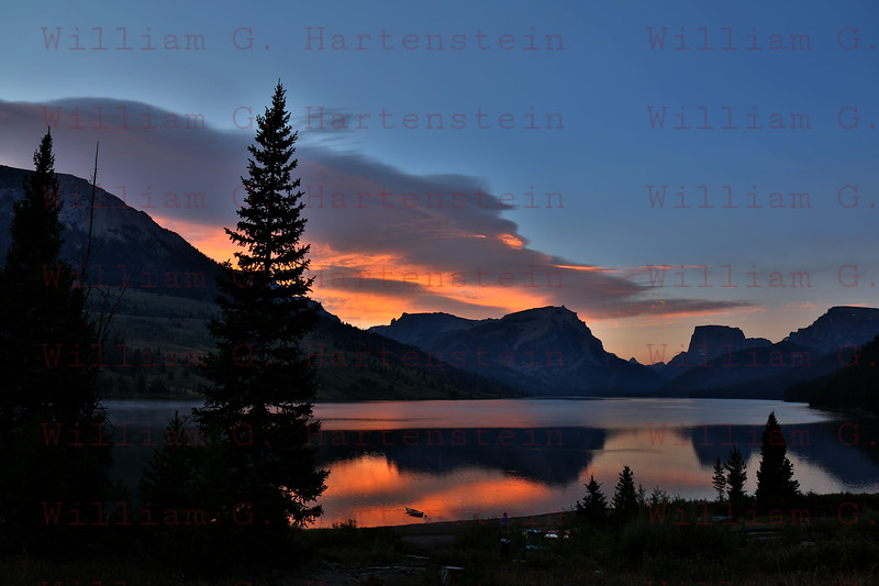 Sunrise Green River Lakes Campground, Wy. 08-21-2017