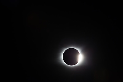 Diamond ring at end of totality.