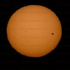 About 10 minutes before Sunset, Venus Sun Transit June 5, 2012 Santa Clarita, CA. Celestron 8- Canon 5D Mark II
