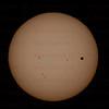 Venus Sun Transit June 5, 2012 Santa Clarita, CA. Celestron 8- Canon 5D Mark II