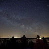 Milky Way Over Black Lake<br /> Canon 5D Mark II with 17-40mm F4 lens at 17mm<br /> ISO 12,800, 30 seconds