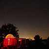 Stars Over Black Lake Observatory<br /> Canon 5D Mark II with 17-40mm F4 lens at 17mm<br /> ISO 6400, 30 seconds