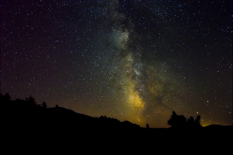 The Milky Way from the Cog Railway (DSO Highlights)