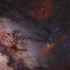 Scorpio region; Pentax 67 105mm f/2.4; 45 minutes; Kodak E200; Pentax 67