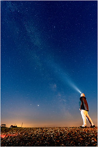 Cley and Milky Way, Cley, Norfolk, United Kingdom, 25 June 2020