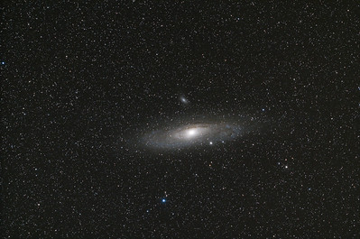 Messier 31 (The Andromeda Galaxy), M32 & M110