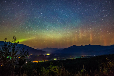 Aurora Over Sauk Valley