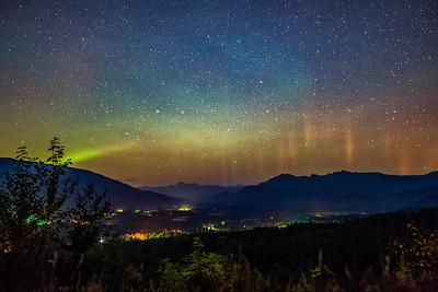 Aurora Over Sauk Valley