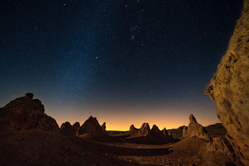 Trona Pinnacles - Alien Landscape