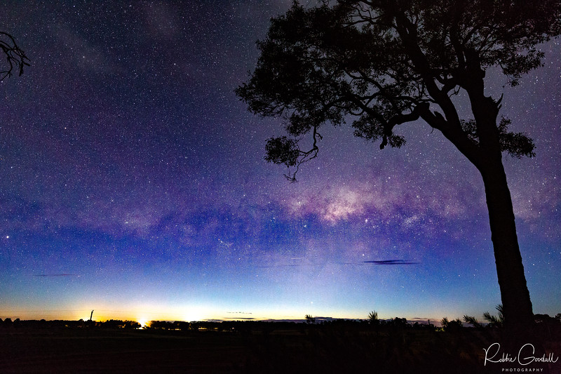 Milky Way setting over Margaret River - Western Australia