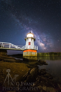 Doubling Point Light Milky Way