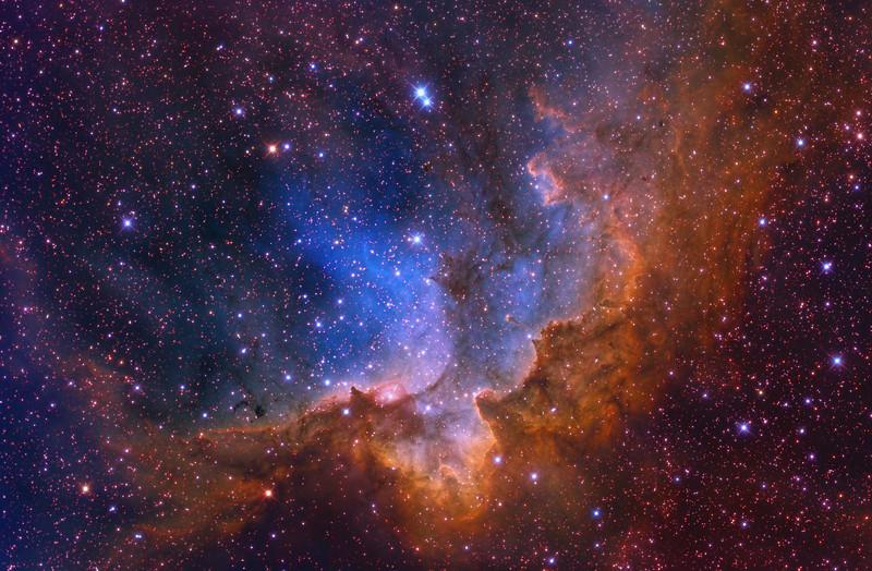NGC 7380 by Ken Crawford