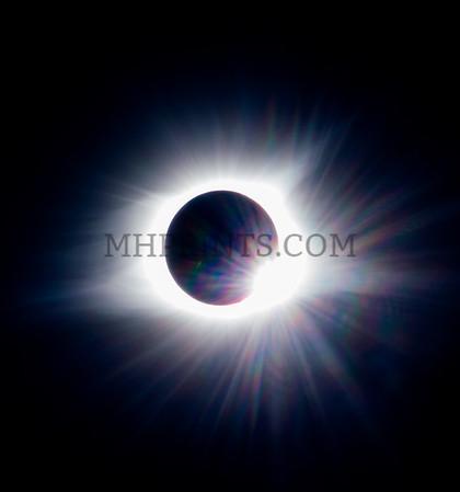 Near Total Eclipse