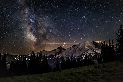 Mount Rainier Milky Way