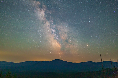 Milky Way Over Granite Mountain