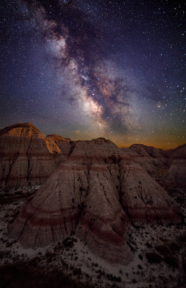 Night Sky at the Badlands