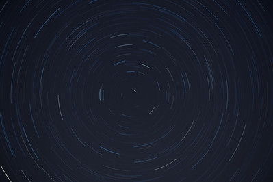 Star trail.