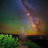 The Milky Way over Hat Creek Valley, Lassen Volcanic National Park