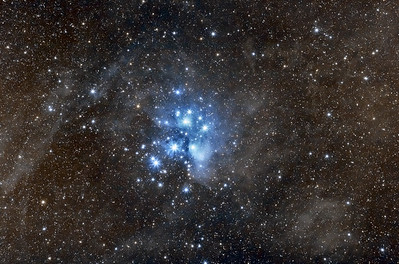 Messier 45 (Pleiades, PixInsight Edition)
