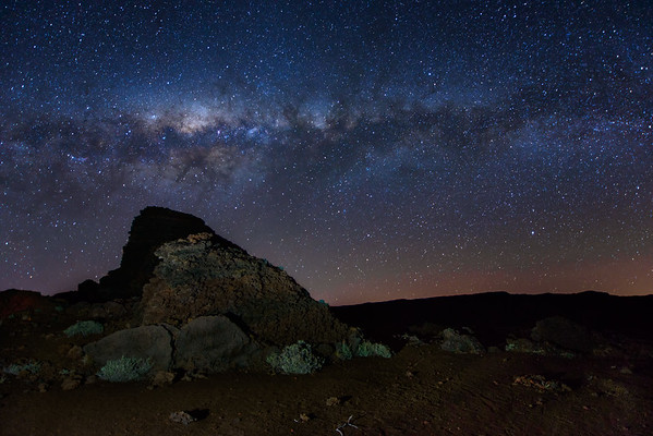 Milky Way at Piton de la Fournaise