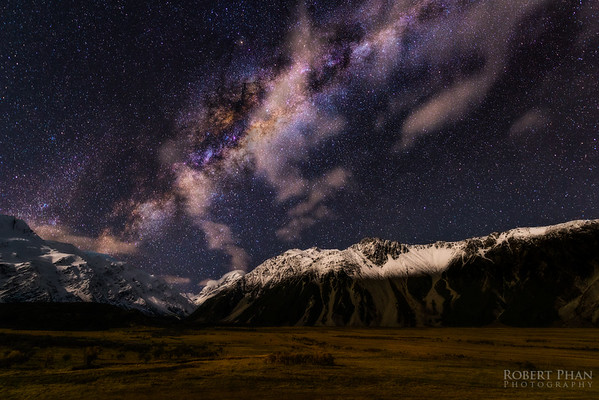 Mount Cook Milky Way