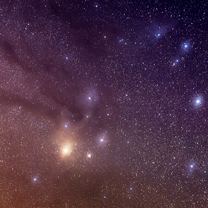 Rho Ophiuchi Star Complex