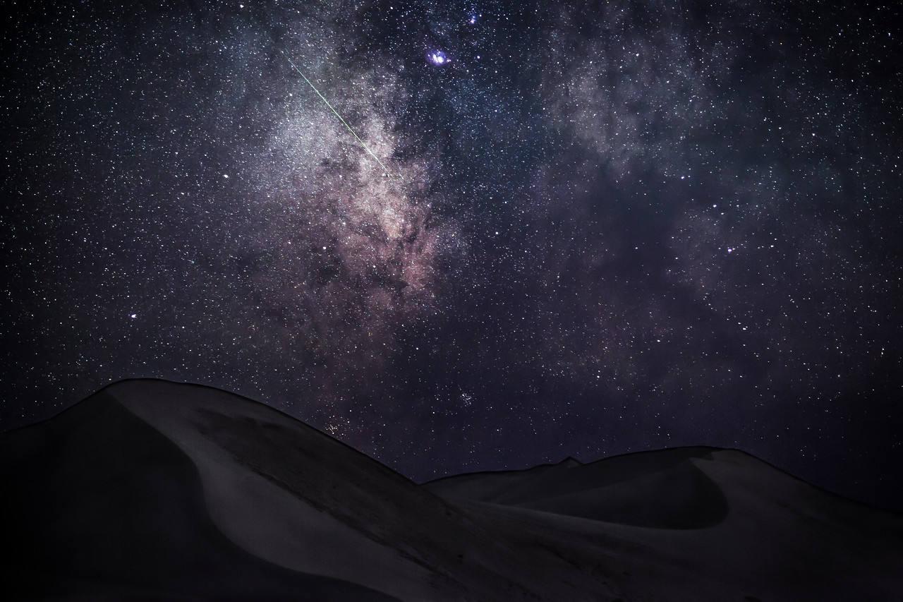 Milky Way at Bruneau Dunes