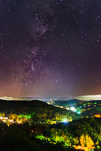 Linville Milkyway Overlook